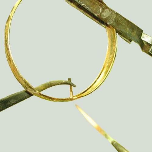 Пайка золотых цепочек в домашних условиях