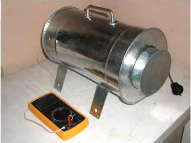 Муфельная печь для плавки металла 141