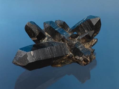 Hexagonal crystal mineral