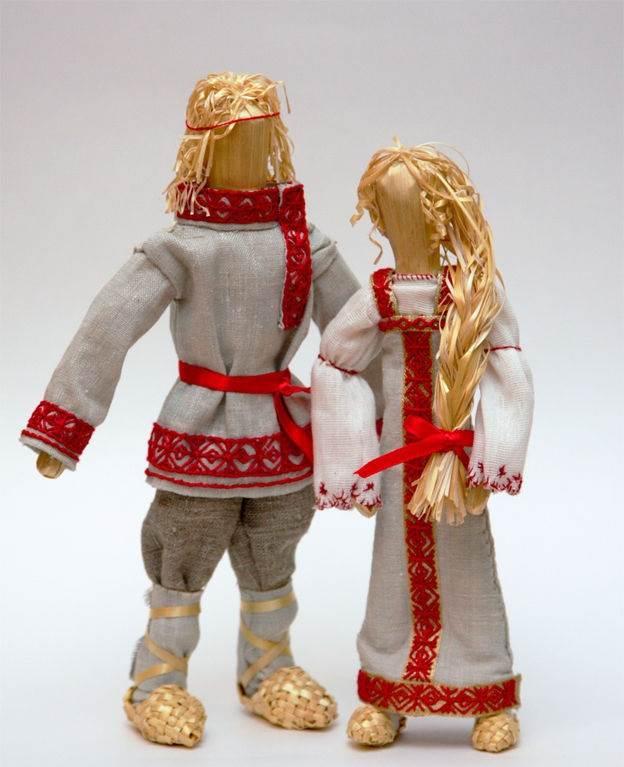 Куклы для детей своими руками славянские