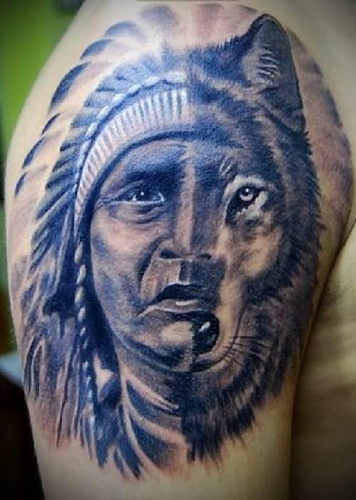 Индейцы и татуировки