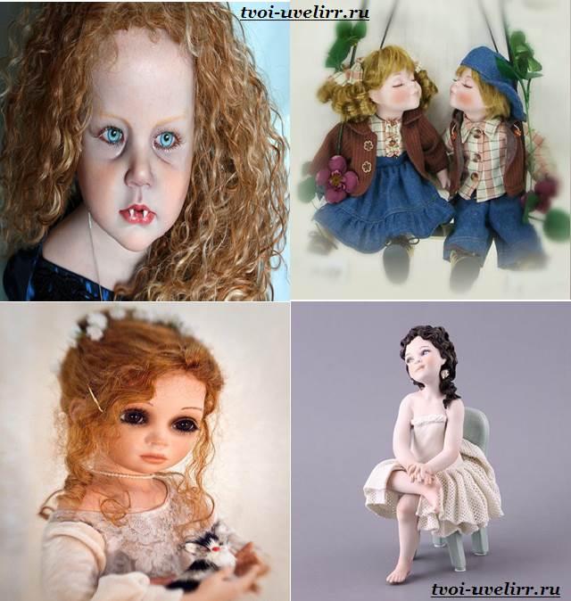 Как сделать фарфоровою куклу