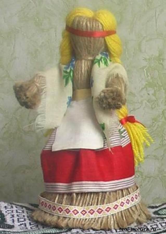 Как сделать декоративную куклу пошагово