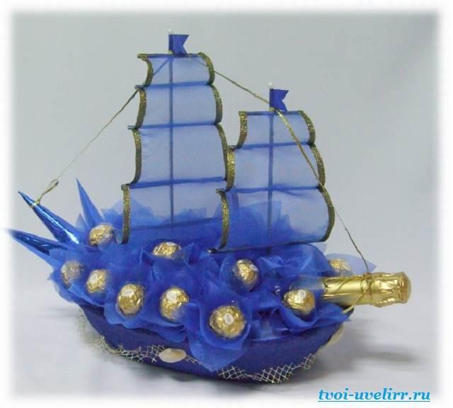 Корабль из шампанского своими руками 35