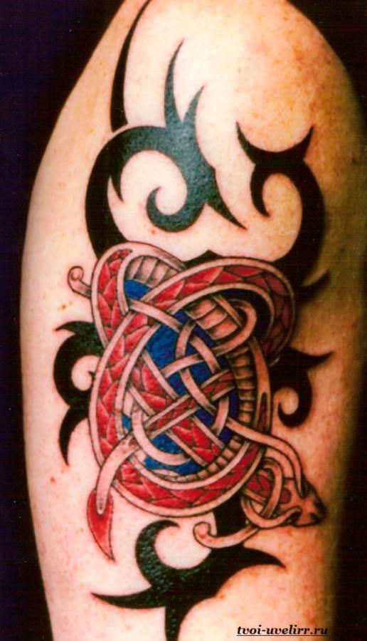 Фото тату кельтских и их значение