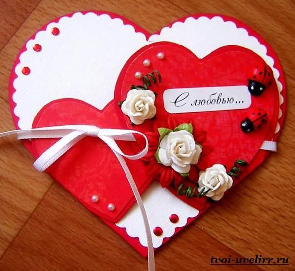 Своими руками подарки в день святого валентина