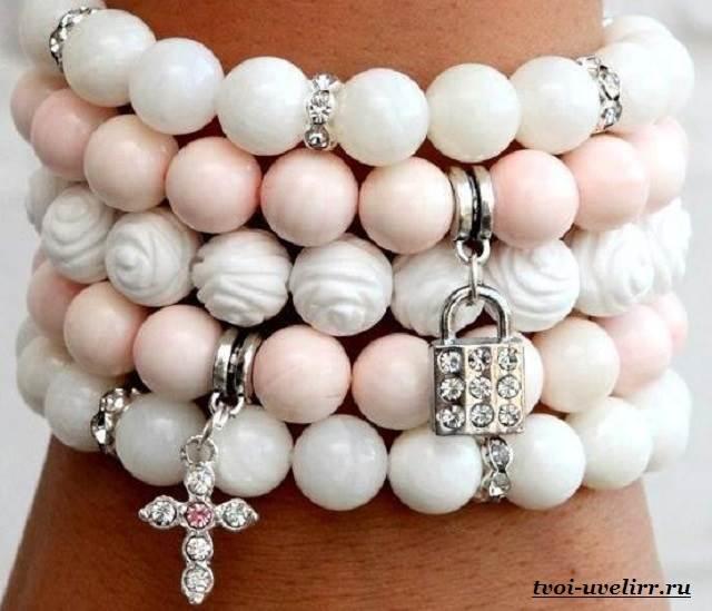 Как сделать своими руками браслеты из камней