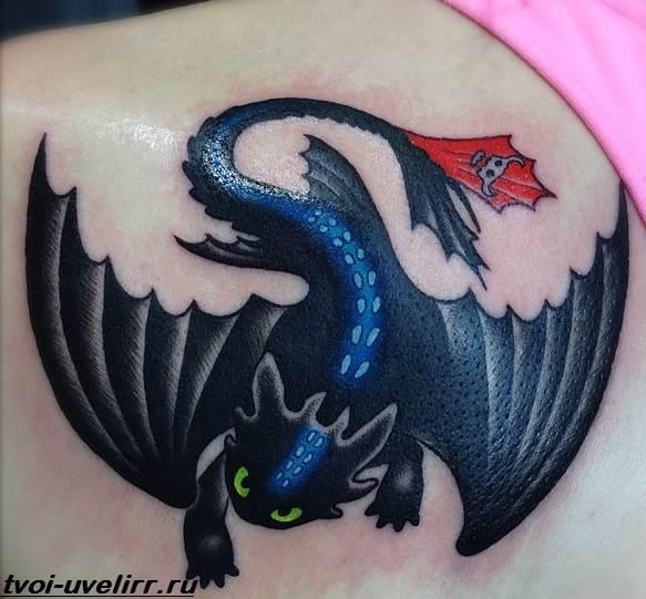 Тату-дракон-Значение-тату-дракон-Эскизы-и-фото-тату-дракон-10