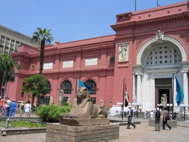 Египетский-музей-в-Каире-1