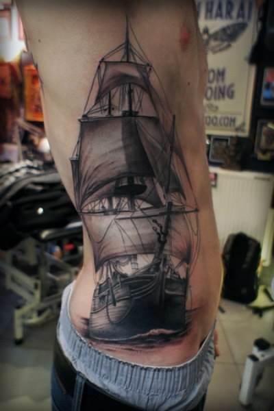 Тату-корабль-2