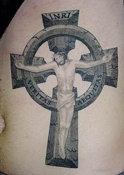 Тату-крест-8