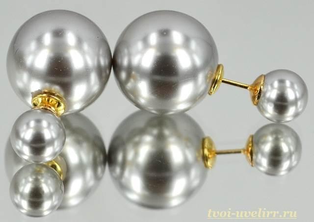 Серьги-шарики-20