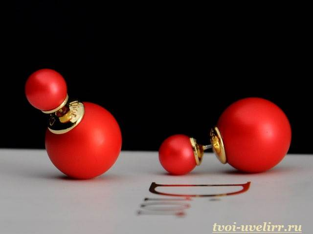 Серьги-шарики-25