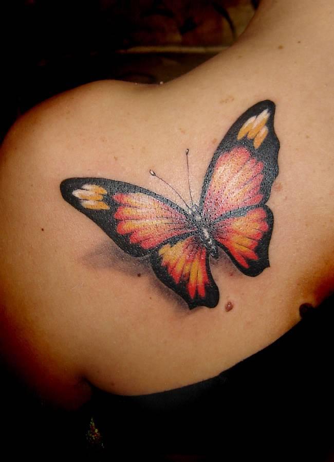 Тату-бабочка-1