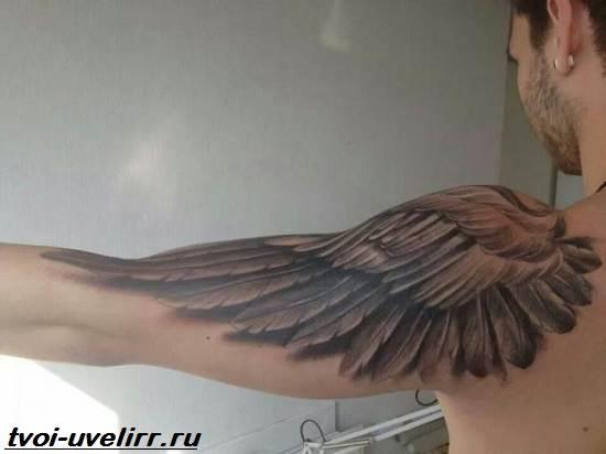 Тату-крылья-Значение-тату-крылья-Эскизы-и-фото-тату-крылья-6