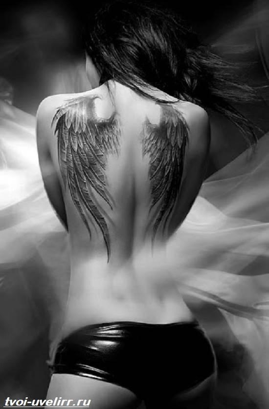 Тату-крылья-Значение-тату-крылья-Эскизы-и-фото-тату-крылья-7