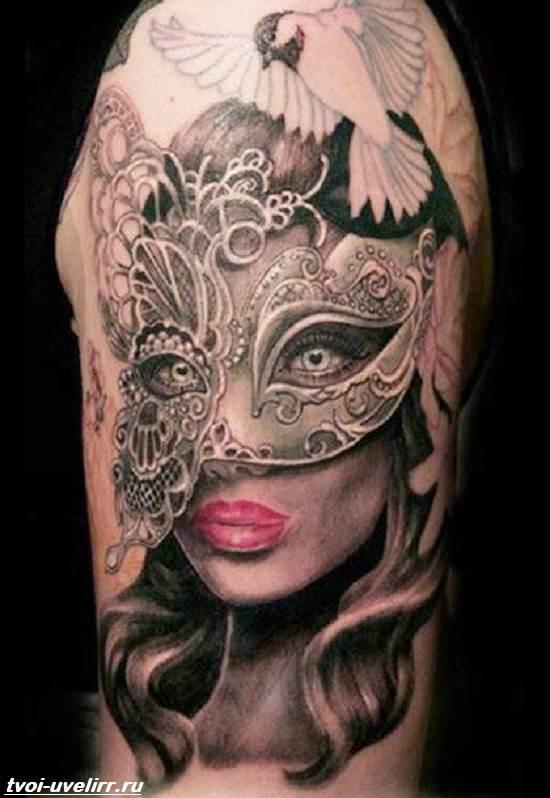Тату-маска-Значение-тату-маска-Эскизы-и-фото-тату-маска-2