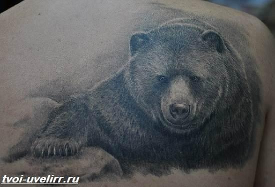 Тату-медведь-Значение-тату-медведь-Эскизы-и-фото-тату-медведь-2