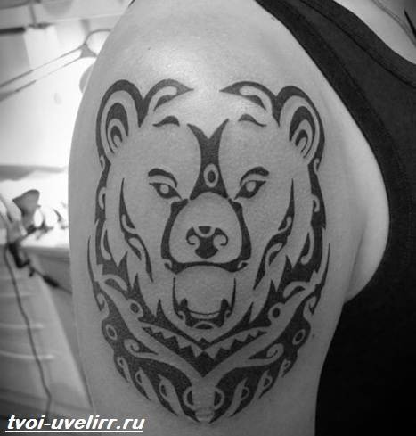 Тату-медведь-Значение-тату-медведь-Эскизы-и-фото-тату-медведь-5