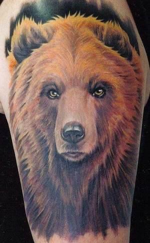 Тату-медведь-1