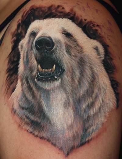 Тату-медведь-2