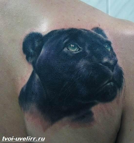 Тату-пантера-Значение-тату-пантера-Эскизы-и-фото-тату-пантера-6