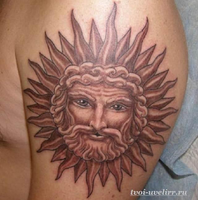 Тату-солнце-22