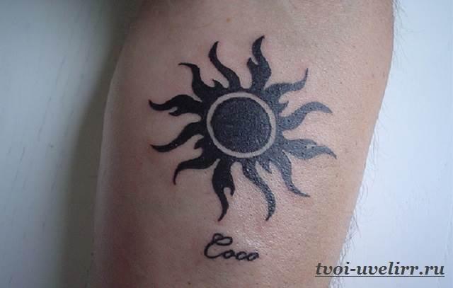 Тату-солнце-29