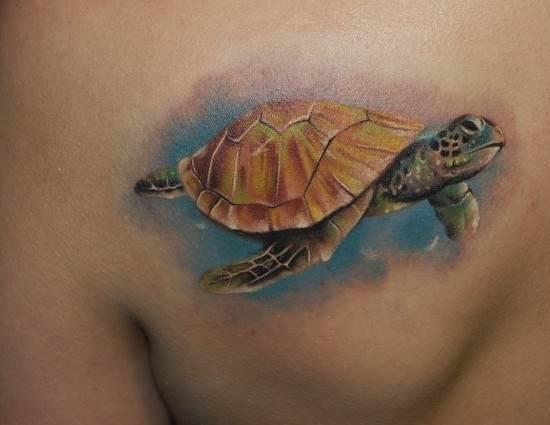 Тату-черепаха-1