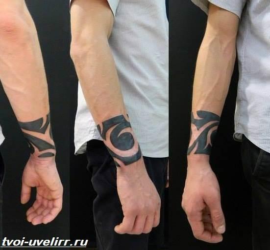 Тату-браслет-Значение-тату-браслет-Эскизы-и-фото-тату-браслет-3