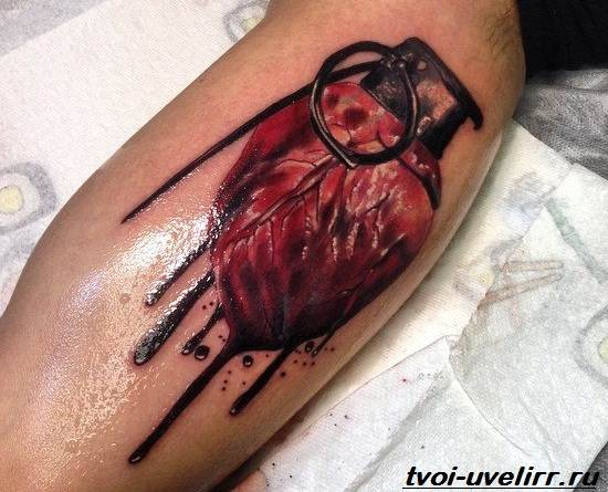 Тату-кровь-Значение-тату-кровь-Эскизы-и-фото-тату-кровь-4