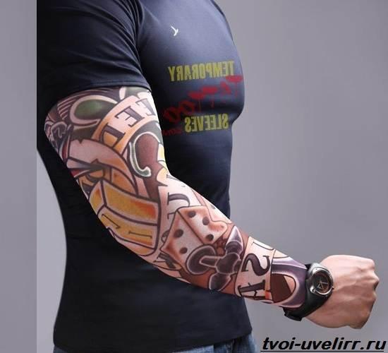 Тату-рукава-Значение-тату-рукава-Эскизы-и-фото-тату-рукава-7