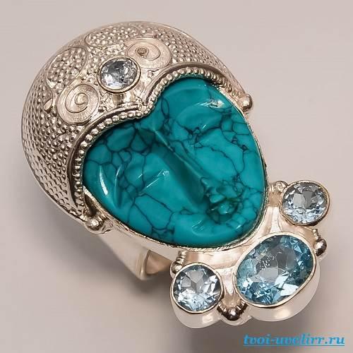 Бирюза-камень-Свойства-бирюзы-Цена-бирюзы-5