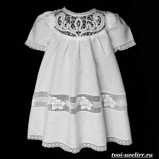 Крестильное платье для девочек сшить