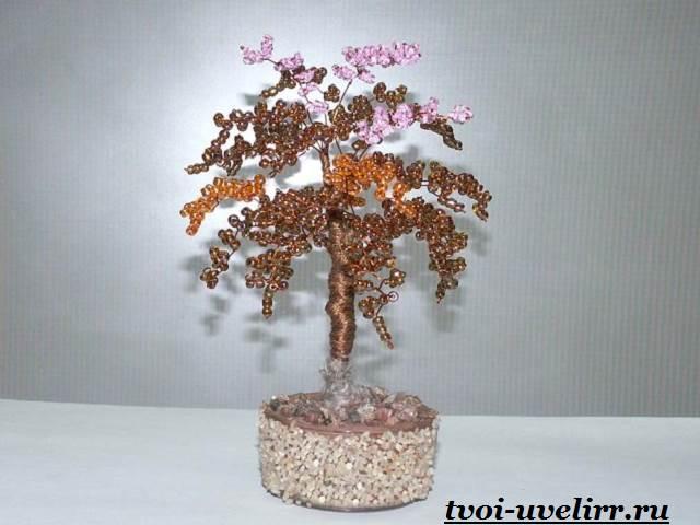 Деревья-из-бисера-Мастер-класс-видео-и-фото-деревьев-из-бисера-13