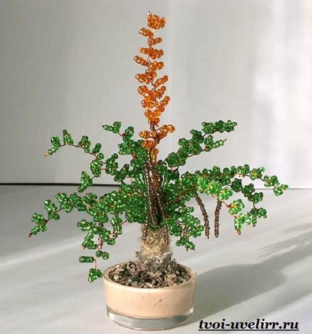 Деревья-из-бисера-Мастер-класс-видео-и-фото-деревьев-из-бисера-14