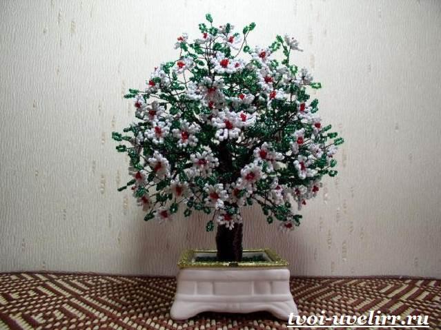 Деревья-из-бисера-Мастер-класс-видео-и-фото-деревьев-из-бисера-3