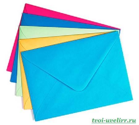 Красивые конверты (своими руками) Журнал Ярмарки Мастеров