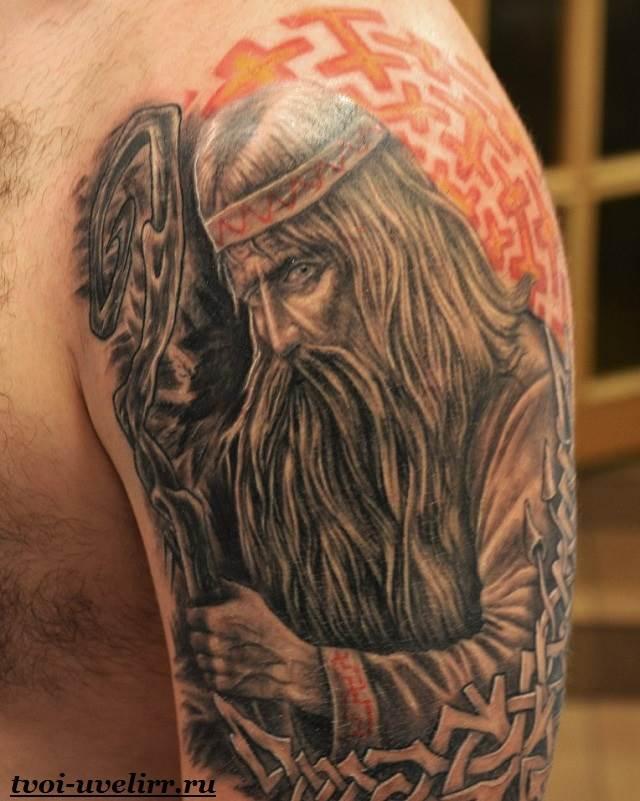 Славянские-татуировки-и-их-значение-Татуировки-в-славянском-стиле-10