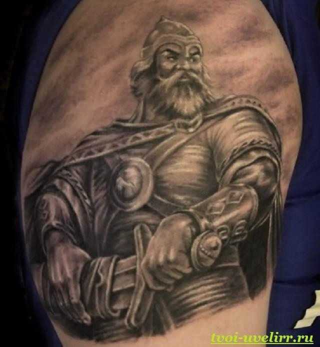 Славянские-татуировки-и-их-значение-Татуировки-в-славянском-стиле-11
