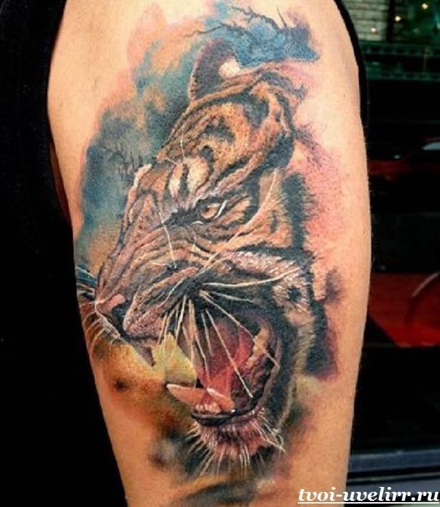 Тату-тигр-и-её-значение-19