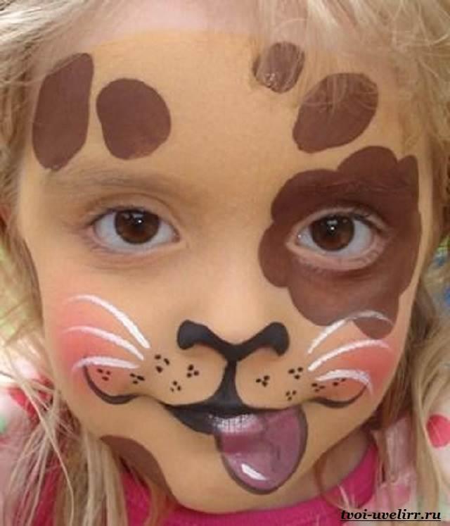 аквагрим для детей мелками фото