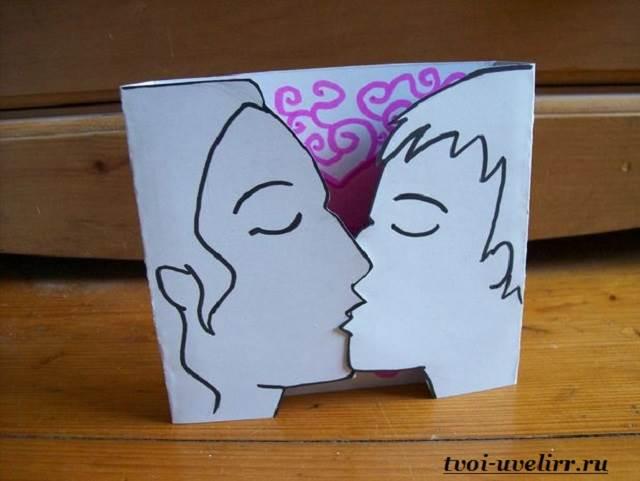 Видео уроки как сделать открытки своими руками на