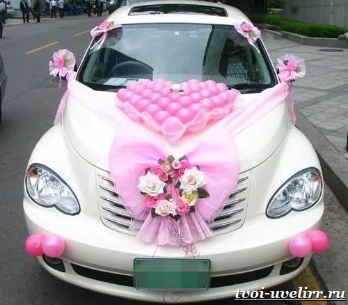 Свадебные-машины-Свадебные-украшения-на-машину-1