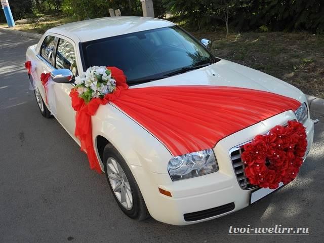 Свадебные-машины-Свадебные-украшения-на-машину-2