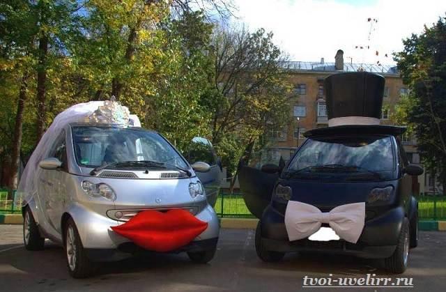 Свадебные-машины-Свадебные-украшения-на-машину-3