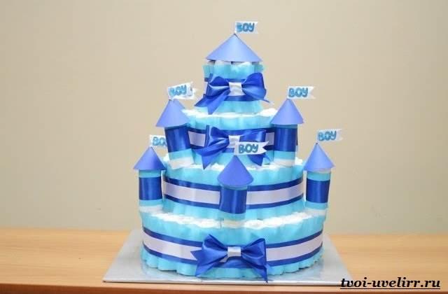 Торт-из-памперсов-Торт-из-памперсов-своими-руками-12