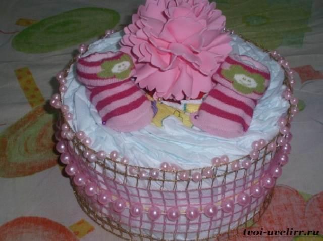 Торт-из-памперсов-Торт-из-памперсов-своими-руками-4