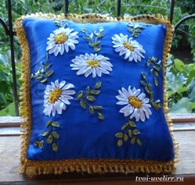 Цветы-из-лент-Как-сделать-цветы-из-лент-своими-руками-16