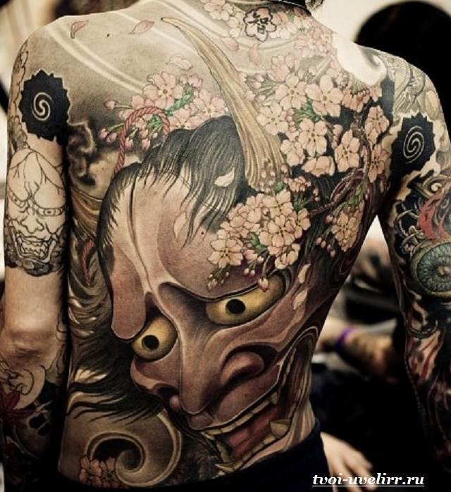 Японские-тату-и-их-значение-1